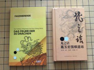 Buchcover Das Feuer der 30 Drachen